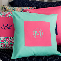 Mint Pillow Cover