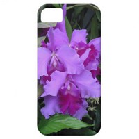 Purple Catleya Orchid IPhone Case iPhone 5 Cover from Zazzle.com
