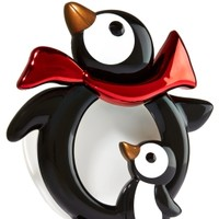Scentportable Holder Mama & Baby Penguins