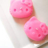 Hello Kitty Candle Set pink bubblegum scented by kokocandles