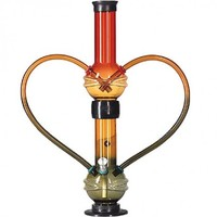Acryl bong double colored