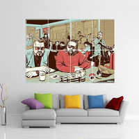 Big Lebowski Pulp Fiction Giant Wall Art Picture Poster