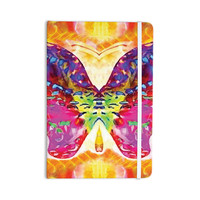 """Anne LaBrie """"Butterfly Spirit"""" Pink Yellow Everything Notebook"""