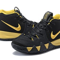 Nike Kyrie Irving 4 IV Black/Gold Sneaker US7-12