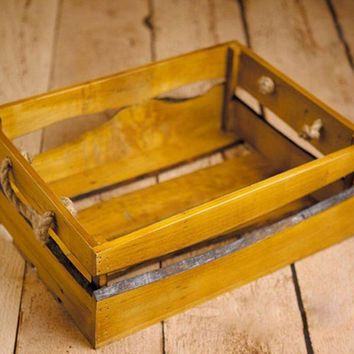 Wooden Rustic Box Crate for Baby Photography Props