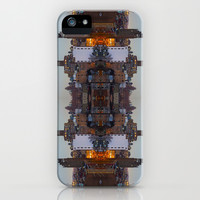 New York Symmetry  iPhone & iPod Case by Chris Klemens