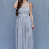 WEB EXCLUSIVE: Wild Romance Dress in Grey