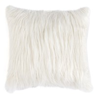 Shaggy Plush Accent Pillow
