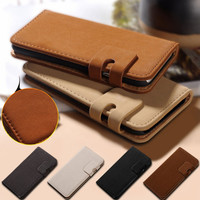 Soft Feel Leather Case For iPhone 6 6S 4.7 inch For iPhone 6 Plus 6S Plus 5.5 Phone Bag Wallet With Card Slot Flip Cover