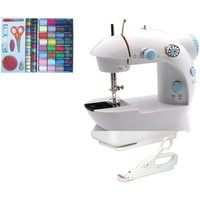 LIL SEW & SEW LSS-202C Portable Mini Sewing Machine (With sewing kit & electric scissors)