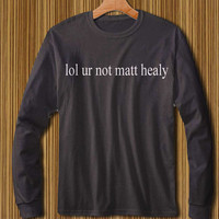 the 1975 shirt the 1975 band shirt matt healy shirt  long sleeve shirt with 3 colors available S M L XL XXL size