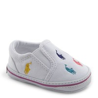 Ralph Lauren Girls' Bal Harbor Slip-On Oxfordcloth Sneakers | Dillards