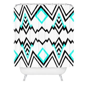 Elisabeth Fredriksson Wicked Valley Pattern 1 Shower Curtain