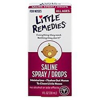 Little Remedies® Little Noses® Saline Spray/Drops