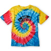 Vans Boys Tripped Out OTW Tie Dye T-Shirt
