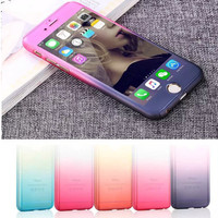 Ombre Front and Back Phone Case For iPhone 6 6S 6Plus