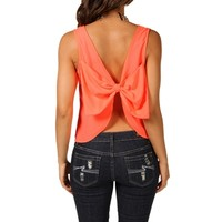 Neon Bow Top