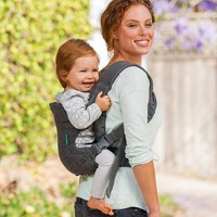 Infantino Flip Advanced 4-in-1 Convertible Baby Carrier - Gray