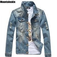 Trendy Mountainskin Spring Men's Jean Jacket Slim Men Fits Denim Jeans Solid Male Jean Coats Men Cowboy Fashion Brand Clothing,SA158 AT_94_13