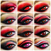 Cosplay Colored Contacts Lens for Eyes 2pcs/Pair