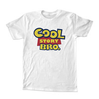 cool story For T-shirt Unisex Adults size S-2XL Black and White