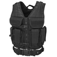 Elite Tactical Vest - Color: Black