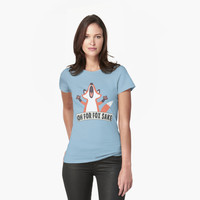 Oh For Fox Sake T Shirt by bitsnbobs