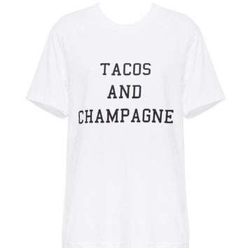 Tacos + Champagne Tee