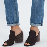 PERSIA Limited Edition High Shearling Mules - Shoes