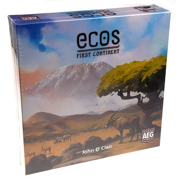 Ecos First Continent Board Game Mold The Planet AEG 2-6 Players Family Gift