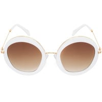A.J. Sunglasses - White