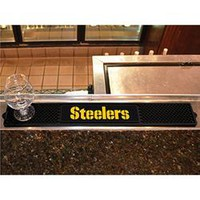 Pittsburgh Steelers NFL Drink Mat (3.25in x 24in)