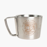 Buffalo Roam Stainless Compass Cup