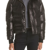 IRO Collyn Leather Puffer Jacket | Nordstrom