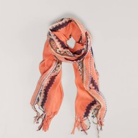 AEO Printed Fringe Scarf   American Eagle Outfitters