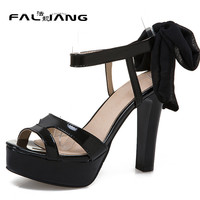 New arrival Summer plus size 11 12 13 14 15 16 Fashion Party sexy Peep Toe womens shoes Ankle Strap Summer high heel sandals