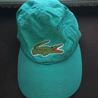 Teal Lacoste Hat