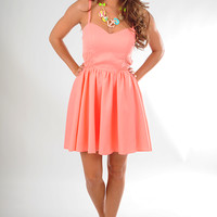 Love Everything About You Dress: Peach