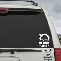 Bernie Sanders   2016 Campaign Election President Decal - Car Window Decal Sticker