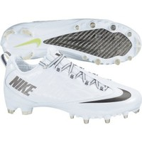 Nike Men's Zoom Vapor Carbon Fly 2 TD Football Cleat - White/Silver   DICK'S Sporting Goods
