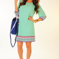 Almost Paradise Dress: Mint | Hope's