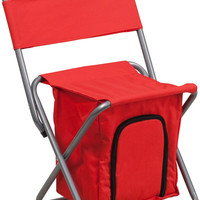 Red Folding Camping Chair