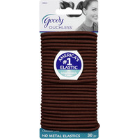 Walmart: Goody Ouchless No Metal Elastics, Chocolate Cake, 30 count