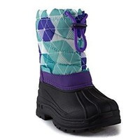 Girls BHD-02I Toddlers Pull On Fleece Lined Winter Snow Boots