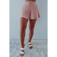 The Perfect Time Shorts: Coral Pink