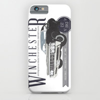 Supernatural : Winchester Antiques iPhone & iPod Case by Fictional Chick