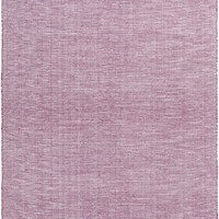 Pipton Solid Area Rug Purple, Pink