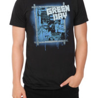 Green Day Statue Of Liberty T-Shirt