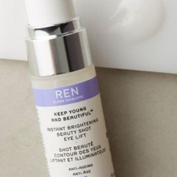 REN Clean Skincare Instant Brighteing Beauty Shot Eye Lift in White Size: One Size Makeup