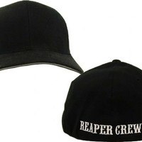 SOA Sons of Anarchy Reaper Crew Fitted Baseball Cap Hat - Sons of Anarchy - | TV Store Online